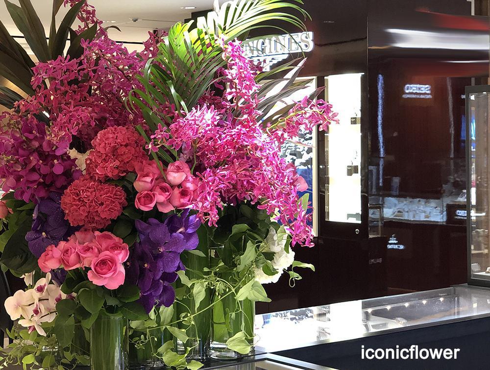 様々な空間を花で飾る「装花」専門・ iconicflower