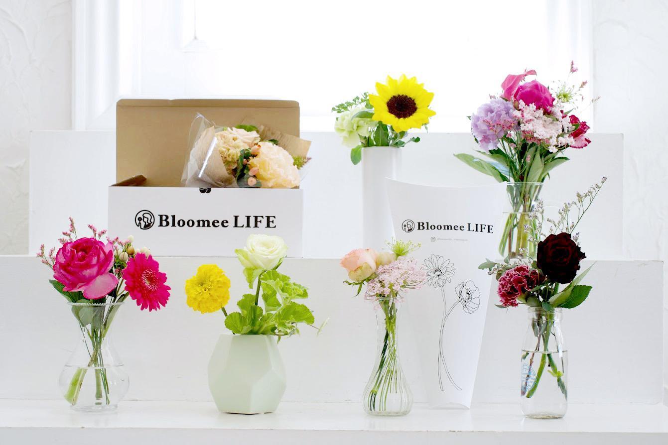 Bloomee LIFEのリアル店舗で花屋スタッフ募集!
