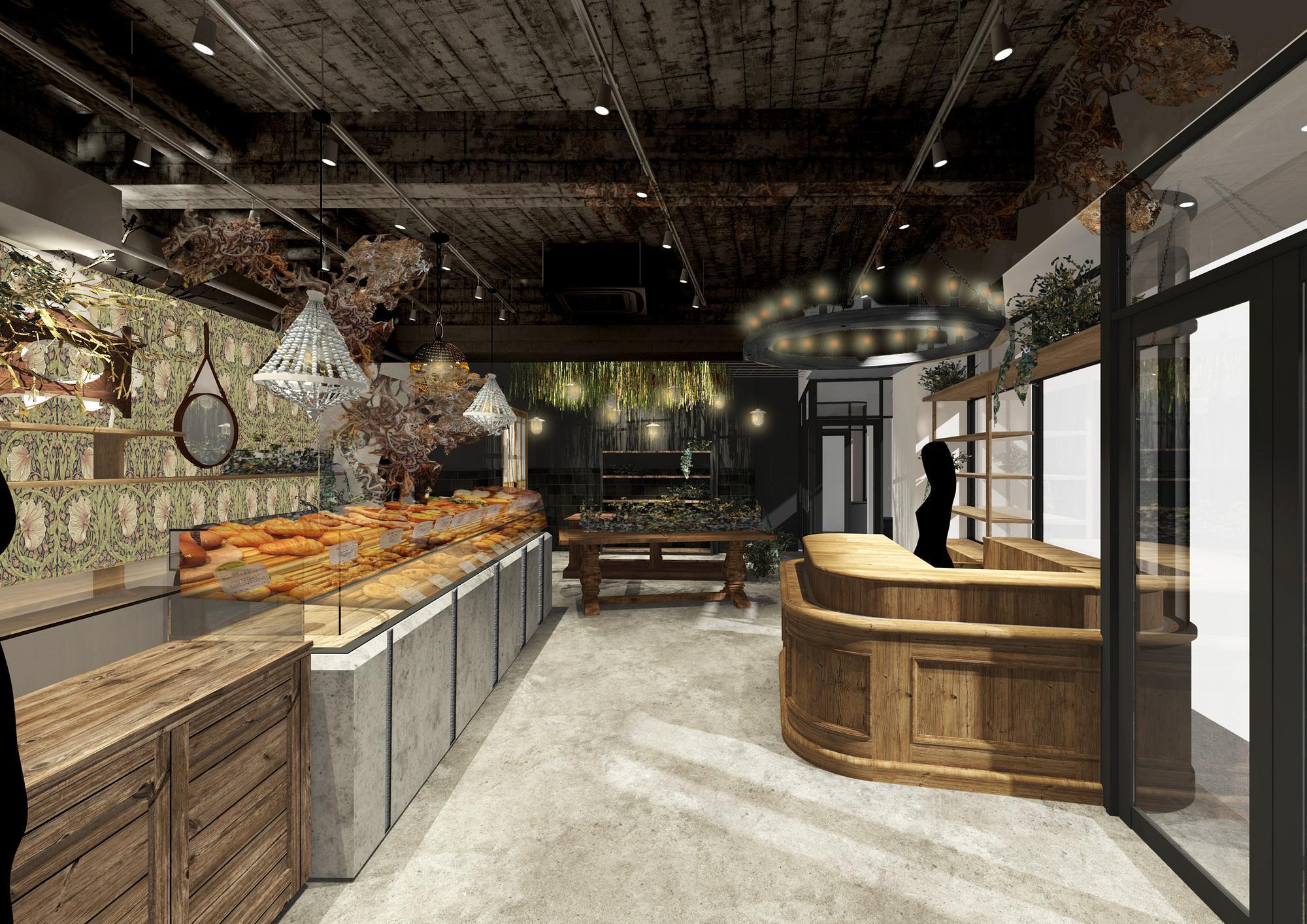 パンと菓子と花と。食卓に彩りを届ける複合店がニューオープン