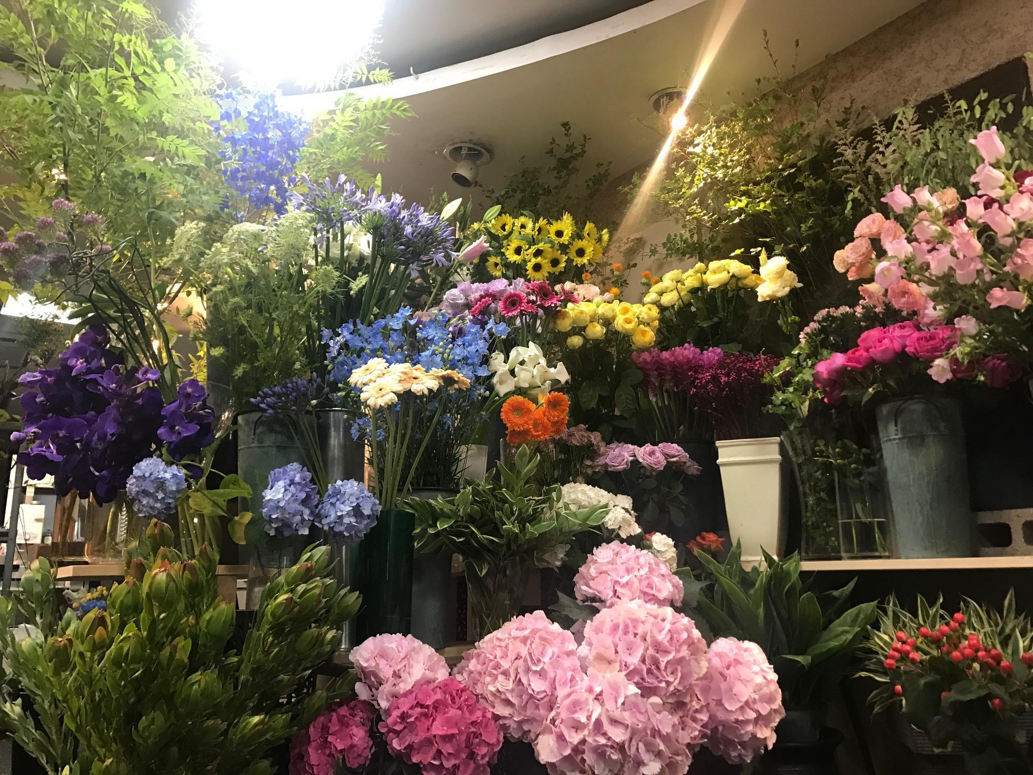 東村山市の花屋です。